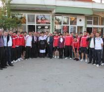 Kızılcabölükspor'dan Ziyaret