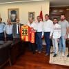 Yönetim Kurulu Üyelerimiz Denizli Valisi Hasan Karahan'ı Ziyaret Ettiler