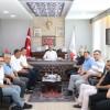 Yönetim Kurulu Üyelerimiz Tavas Belediye Başkanı Turhan Veli Akyol'u Ziyaret Ettiler