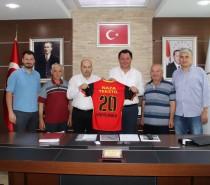 Yönetim Kurulu Üyelerimiz Tavas Belediye Başkanı Hüseyin İnamlık'ı Ziyaret Ettiler