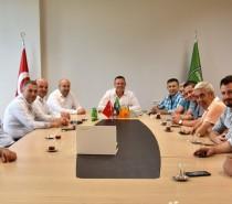 Yönetim Kurulu Üyelerimiz, Denizlispor Yönetim Kurulu Üyelerini Ziyaret Ettiler