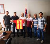 Yönetim Kurulu Üyelerimiz, Tavas Jandarma İlçe Komutanı Üsteğmen Ramazan Kılıçarslan'ı Ziyaret Ettiler